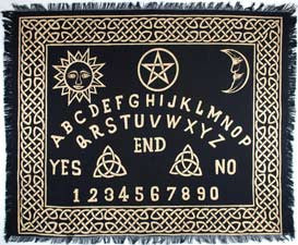 Ouija Board Altar Cloth