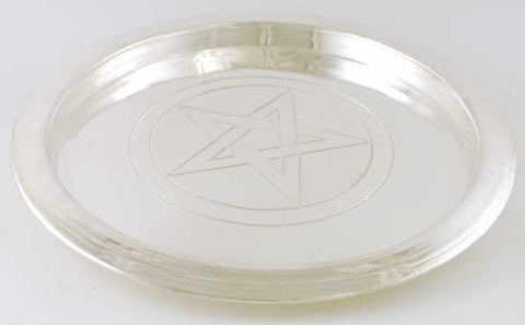 Silver Plated Pentagram Charging Plate