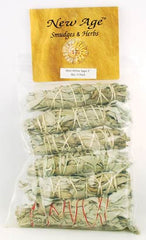 White Sage smudge stick 6-Pack