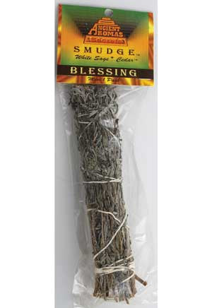 "Blessing smudge stick 5""- 6"""