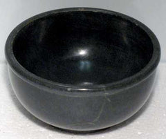 Black Stone Scrying Bowl  4 inch