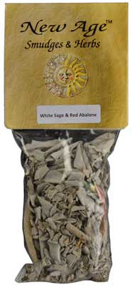 White Sage Kit-Smudge Stick With Shell