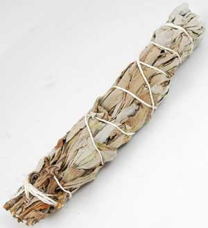 "White Sage Smudging Wand 5""- 6"""