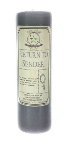Return to Sender Candle