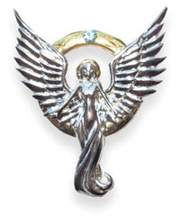 Serafina Aizza Life Angel Necklace  by Anne Stokes - For True Love & Loyal Friendship