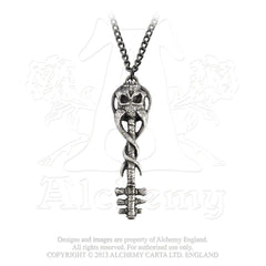 Satan's Key To Hell Necklace