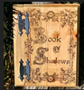 Celtic Oak Leaf Frame Book of Shadows