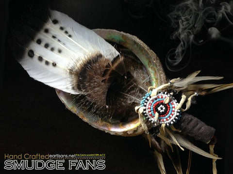Ancient Spirit Handmade Smudging Fan