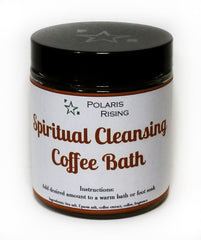 Spiritual Cleansing Coffee Bath Salt - 4oz
