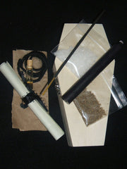 Coffin Spell Kit to Stop Gossip, Slander, Rumors, Lies, Perjury, Court Cases, Protection