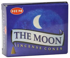 The Moon HEM Incense Cones