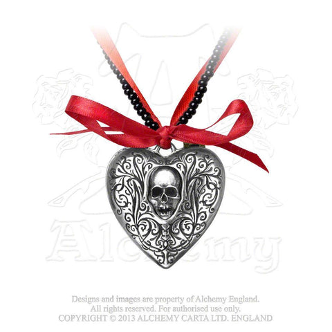 The Reliquary Heart Locket Necklace