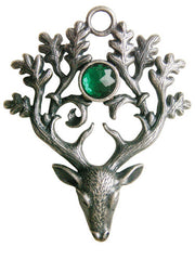The Stag Lord Necklace-For Protection