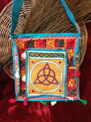Gypsy Styled Triquetra Tote Bag/Purse