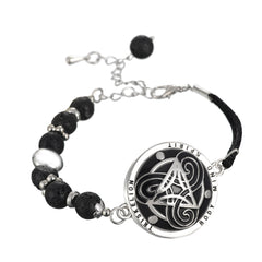 Celtic Knot of Power Triskelion Bracelet