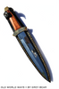 Vikings Life Athame w/Walnut Wood Handle 13.75 inch
