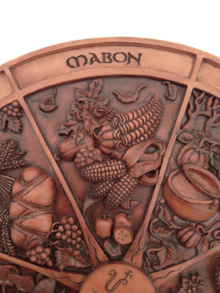 The Wheel Of Fortune As Advice: Wheel Of The Year Plaque-Sabbat Plaque For Your Home