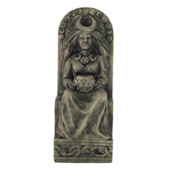 Seated Moon Goddess Statue - Stone Finish