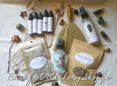 Spiritual Cleansing Set By The Barefoot Witchery