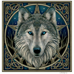 Wild Wolf Yule Cards by Lisa Parker