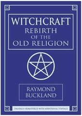 Witchcraft Rebirth of the Old Religion by Ray Buckland - DVD