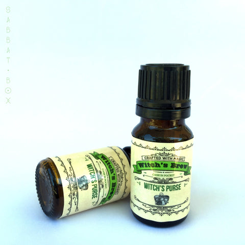 Witch's Purse Witch's Brew Ritual Oil