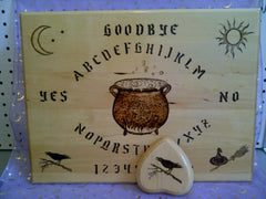Witches Cauldron Spirit Board