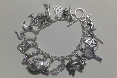 Witches Delight Bracelet for Power, Guidance, Wisdom, Knowledge and Protection