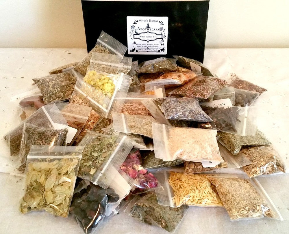 Witch's Herbal Apothecary-66 Herb Collection