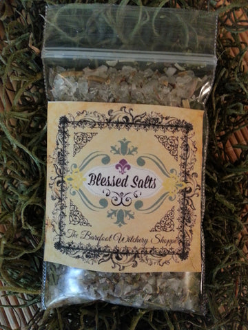 Blessed Salts for Purification and Protection