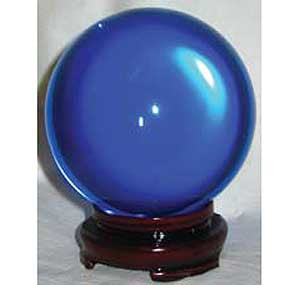 Blue Crystal Ball 80mm