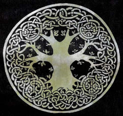 "Celtic Tree of Life Altar Cloth/Tapestry 72"" x 108"""