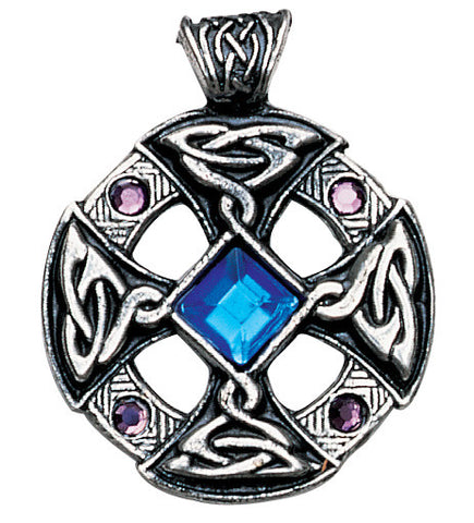 Celtic/Nordic Cross Pendant for Inspiration and Intuition