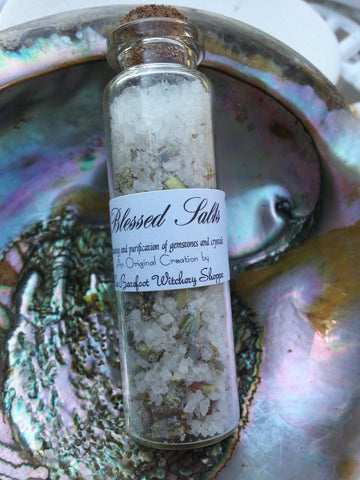 Blessed Salts-for cleansing your gemstones and crystals