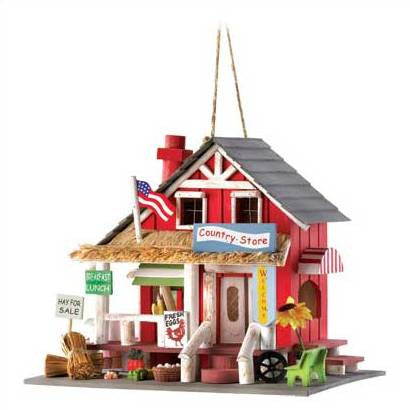 Country Store Birdhouse/Elf House