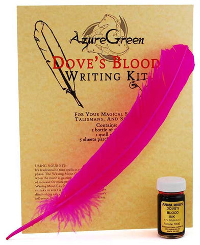 Dove's Blood Ink and Writing Kit