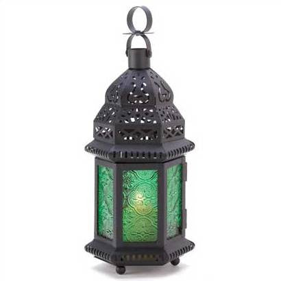 Earth Elemental Candle Lantern 10 1/4""