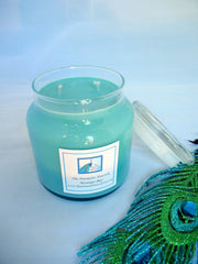 Montego Bay Scented Soy Candle 20oz Apothecary Jar