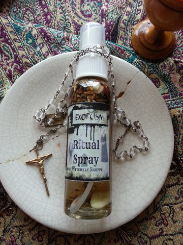 Exorcism Ritual Spray for Clearing and Banishing