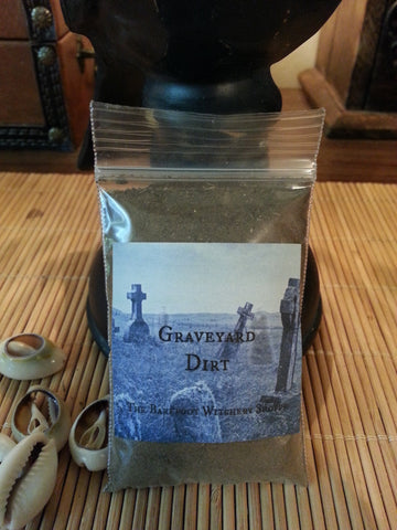 Ritually Collected Ancestral Graveyard Dirt