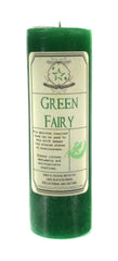 Green Fairy Candle