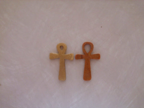 Ankh and Triple Moon Pendants