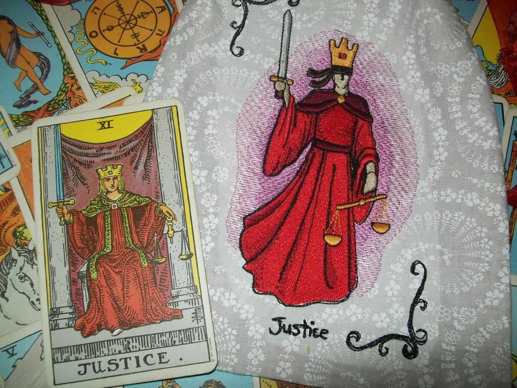 Value of the card Justice (Tarot) 34