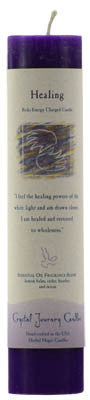 Healing Reiki Charged Pillar Candle
