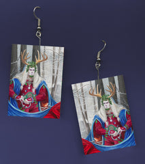 Holly King Earrings