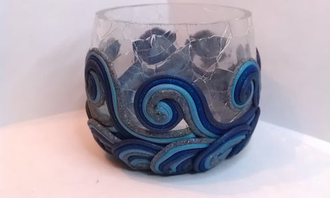 Water Elemental Candle Holder SM