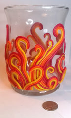 Fire Elemental Candle Holder LG