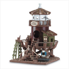 Lighthouse Station Bird House