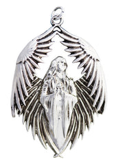 Prayer for the Fallen Necklace for Remembrance by Anne Stokes