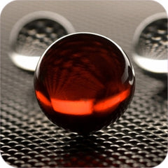 "Red Crystal Ball Gift Set (4"",110mm)"
